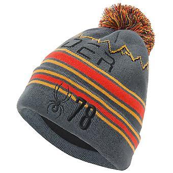 Spyder ICEBOX miesten neulottu Bommel talvi suksi hattu harmaa