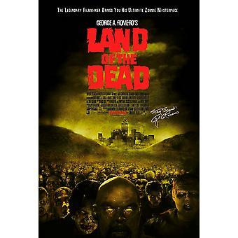 Land der Toten Original Filmplakat - einseitig egulär
