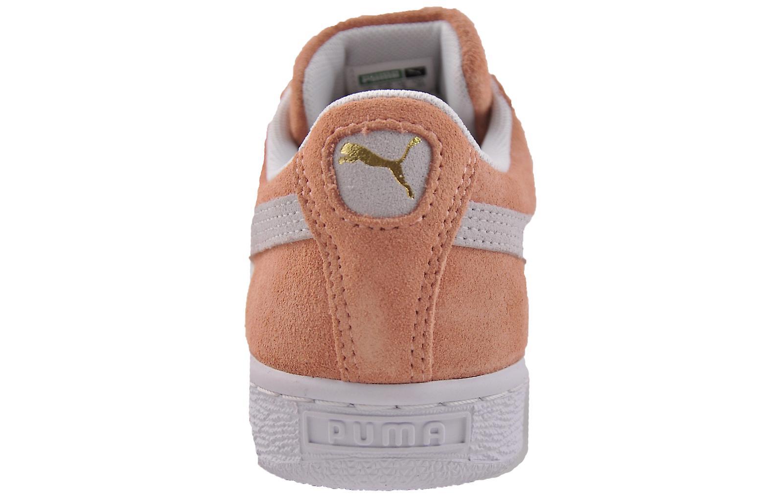Puma Suede Classic Soft Pink / White