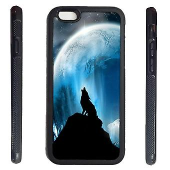 iPhone 6 shell with Howling Wolf-Wolf dog picture