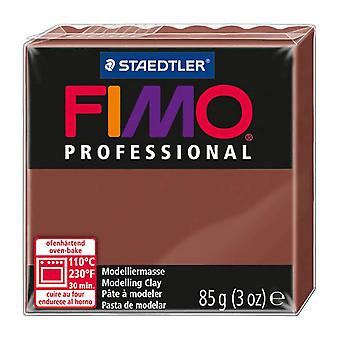 Fimo Professional Modeling Clay, chocolate, 85 g