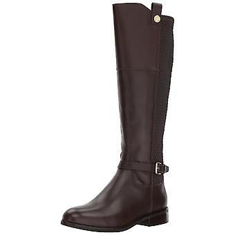 Cole Haan Womens galina boot Leather Round Toe Knee High Fashion Boots