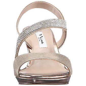 Nina Womens Novelle Open Toe Special Occasion Slide Sandals