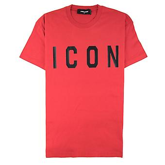 Dsquared2 Icon Print T-shirt rot