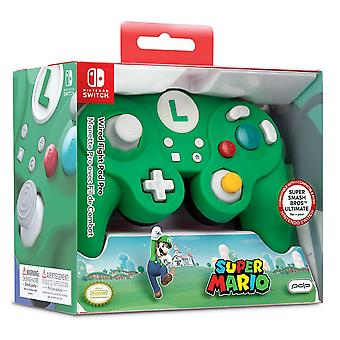 PDP Nintendo Super Mario Luigi Wired Smash Pad Pro Switch Controller