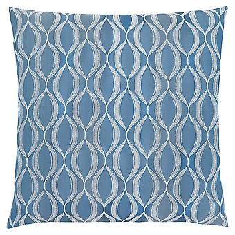 "18"" x 18"" Blue, Wave Pattern - Pillow"