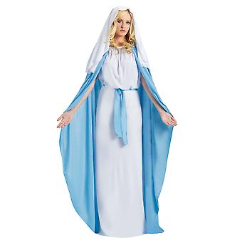 Virgin Mary Biblical Religious Christmas Easter Good Friday Womens Costume OS