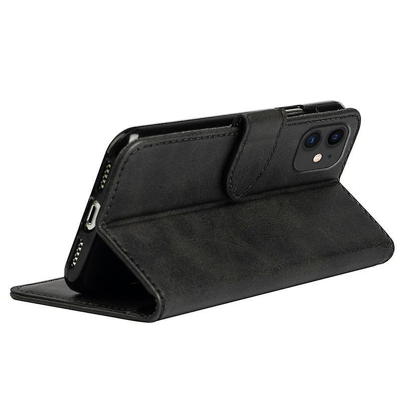 CaseGate phone case for Apple iPhone 11 case cover - in black - lock, stand function and card compartment