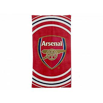 Arsenal FC Official Pulse Design Towel