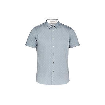 Ted Baker Franko grijs/groene Shirt