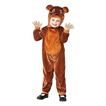 Toddler Bear Costume Toddler Brown