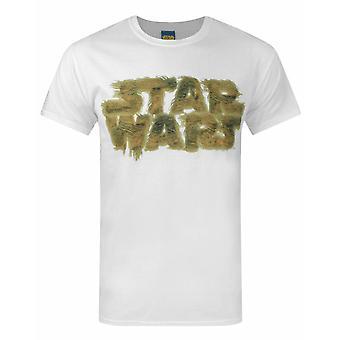 スター・ウォーズ チューバッカ ロゴ メン&アポス;s Tシャツ
