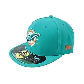 New Era 59Fifty NFL Miami Dolphins Home Cap