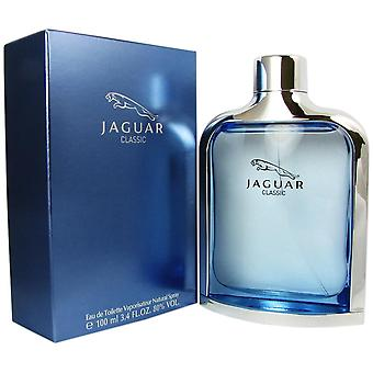 Jaguar klassiske blå for menn 3,4 oz eau de toilette spray