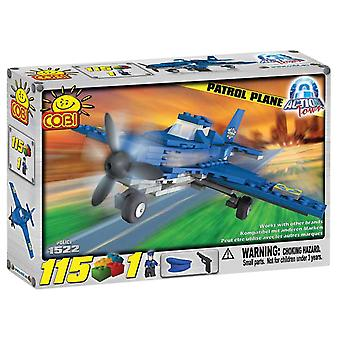 Action Town 115 Piece Patrol Plane Construction Set