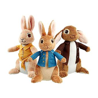 Peter Rabbit, Benjamin Bunny and Mopsy Plush Toy Set
