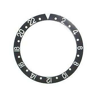 Bezel insert made by w&cp to fit rolex 315-16700-1 generic bezel insert
