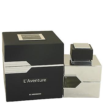 L'aventure av Al Haramain Eau De Parfum Spray 3.3 oz/100 ml (menn)