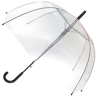 X-Brella Unisex Adults 23in Clear Canopy Stick Umbrella