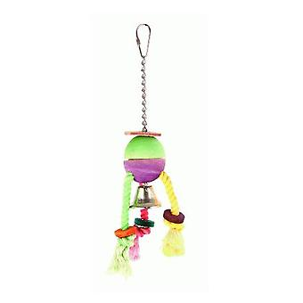 Sandimas Juguete Cuerdas y Campana (aves, brinquedos)