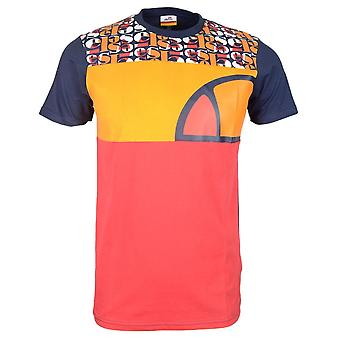 Ellesse Cirillo Red Cotton T-shirt