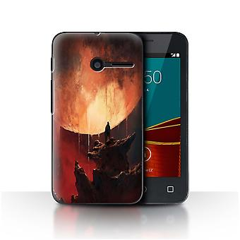 STUFF4 Case/Cover for Vodafone Smart First 6/Melting Sun/Alien World Cosmos