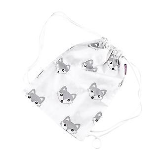 Gym bag Foxi, white