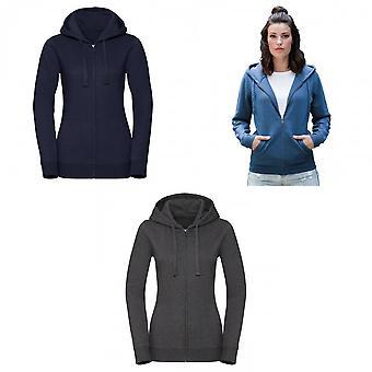 Russell Womens/dames authentiek zipped hoodie