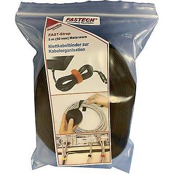 FASTECH® 699-330-Bag Haken-und-Loop-Band zum Bündeln von Haken und Loop Pad (L x B) 5000 mm x 50 mm Schwarz 5 m