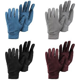 Womens/Ladies Plain Leather Gloves