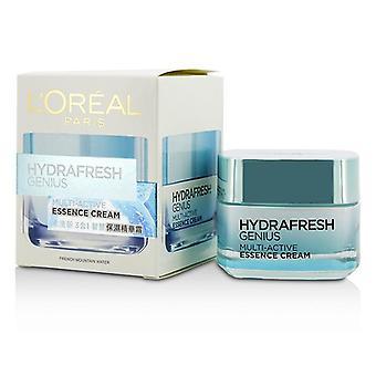 L'oreal Hydrafresh عبقرية متعددة النشاط جوهر كريم - 50ml/1.7oz