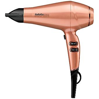 Babyliss Pro Keratin Lustre 2300W Long Life High Speed Hair Dryer - Gold