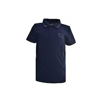 EA7 Boys EA7 Kids Dark Blue Short Sleeved Polo Shirt