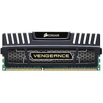 Corsair CMZ4GX3M1A1600C9 Rache, interner RAM-Speicher, 4 GB, 1600 MHz, DDR3, DIMM, Schwarz