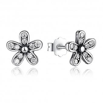Silver Earrings Daisy - 6494