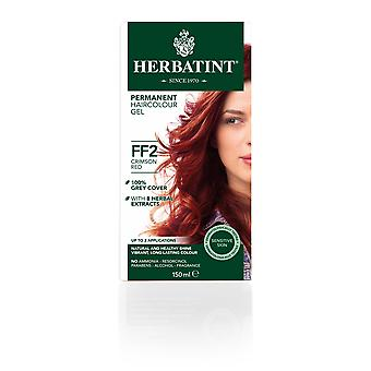HERBATINT Flash moda FF2 Crimson Red (150 ml)