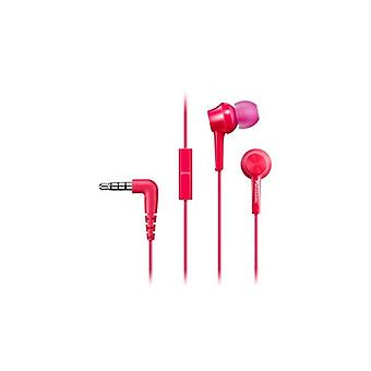 Headphones with Microphone In-ear Panasonic Corp. RP-TCM115E Pink