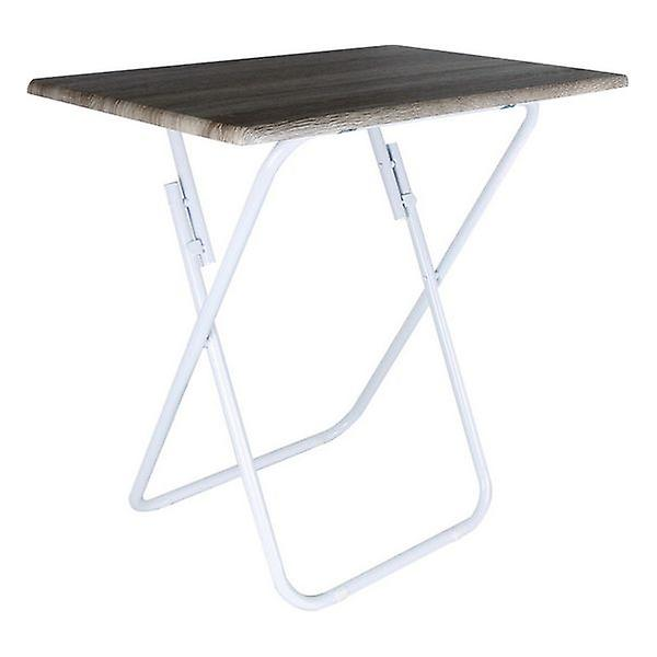 Folding Table Confortime Wood Metal/48 x 38 x 66 cm