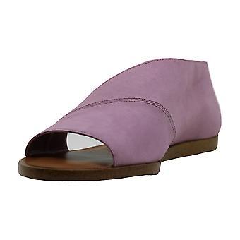 1. staat Womens Celvin open teen casual glijbaan sandalen