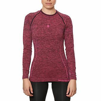 Women's Thermal T-shirt Sport Hg Hg-8052 Black Magenta