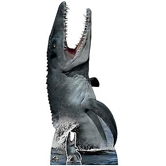Mosasaurus Official Jurassic World Lifesize Cardboard Cutout / Standee