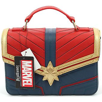 Loungefly Captain Marvel Crossbody Bag