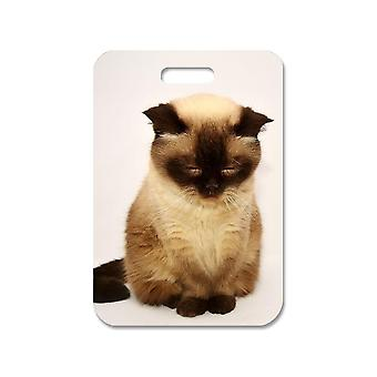 British Shorthair Kitten Big Bag Pendant