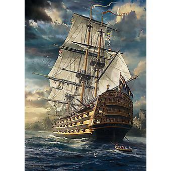Schmidt Sails Set Jigsaw Puzzle (1000 Pieces)