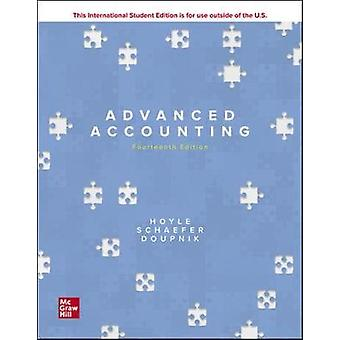 ISE Advanced Accounting by Joe Ben Hoyle - 9781260575910 Book