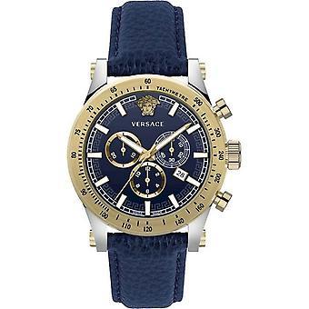 Ceas Versace pentru bărbați Ceas cronograf SPORTY VEV800219 Piele