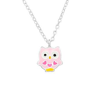 Owl - 925 Sterling Silver Halsband - W23381x