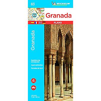 Granada - Michelin City Plan 83 - City Plans - 9782067237001 Book