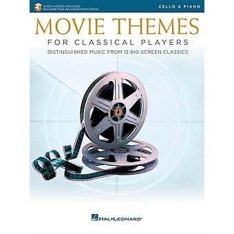 Movie Themes for Classical Players Cello amp Piano by Hal Leonard