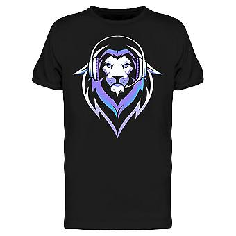 Purple Gamer Lion Icon Tee Men's -Kuva Shutterstockilta